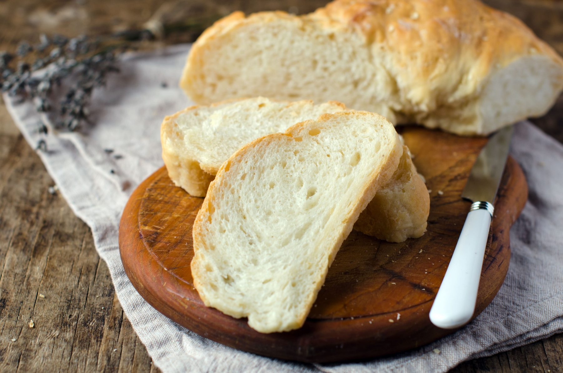 Easy Made Yeast Bread sliced