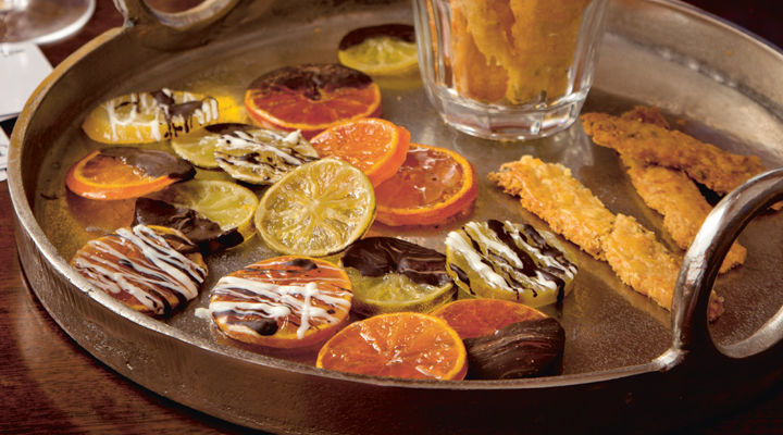 candied citrus slices