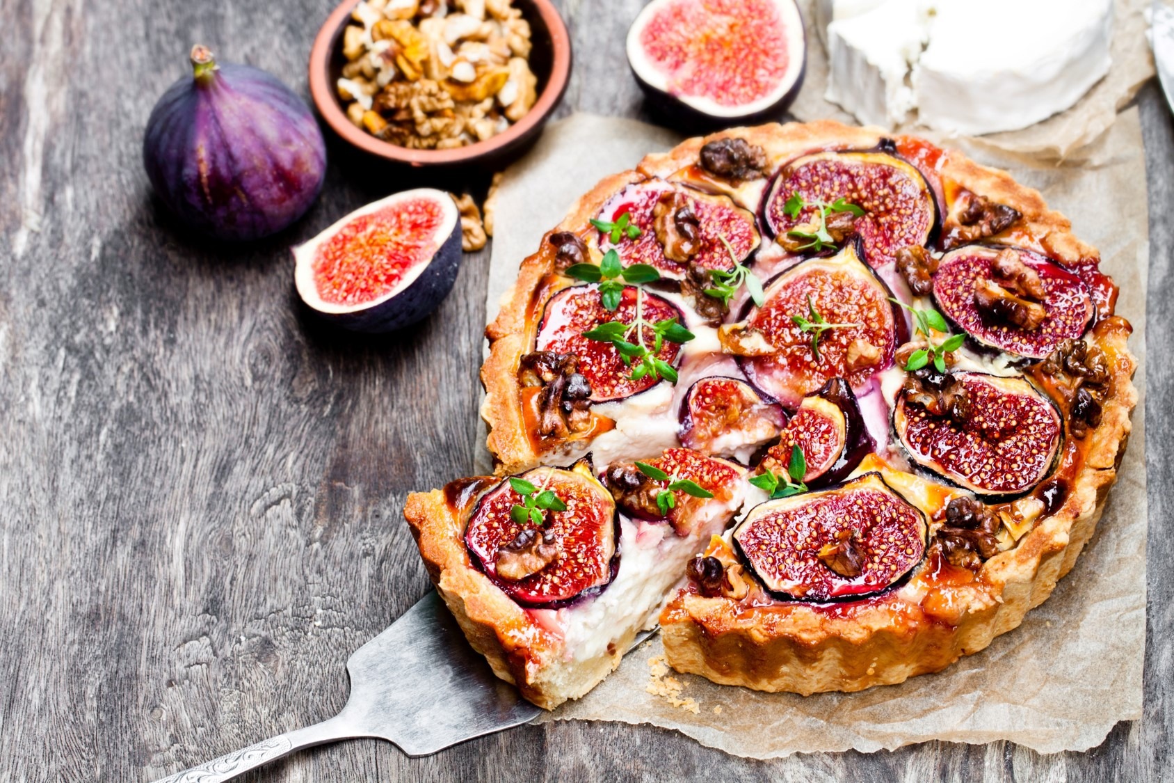 Goat's Cheese and Fig Tart - SuperValu